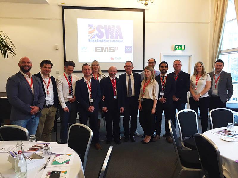 Some BSWA shockwave conference delegates